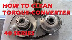 How to Maintain a 40 Series Torque Converter